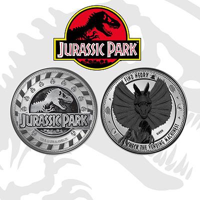 Einfach und sicher online bestellen: Jurassic Park Sammelmünze Find Nerdy in Österreich kaufen.