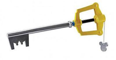 Einfach und sicher online bestellen: Kingdom Hearts Replik Sora's Schlüsselschwert in Österreich kaufen.