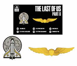 Einfach und sicher online bestellen: The Last of Us 2 Cosplay Pin Badget Set (2 Stk) in Österreich kaufen.