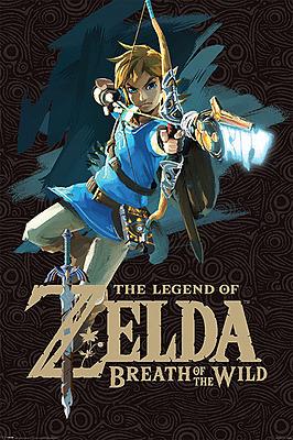 Einfach und sicher online bestellen: The Legend of Zelda Breath of the Wild Poster in Österreich kaufen.