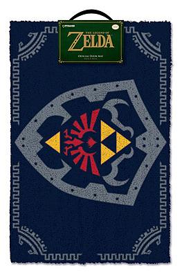 Einfach und sicher online bestellen: Legend of Zelda Fußmatte Hylia Schild in Österreich kaufen.