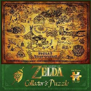 Einfach und sicher online bestellen: The Legend of Zelda Hyrule Map Puzzle in Österreich kaufen.
