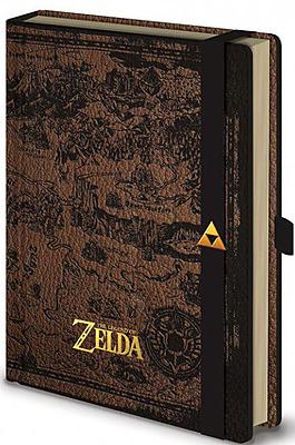 Einfach und sicher online bestellen: Breath of the Wild Notizbuch Hyrule Map in Österreich kaufen.