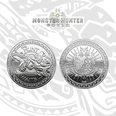Einfach und sicher online bestellen: Monster Hunter Sammelmünze The Hunt Awaits in Österreich kaufen.
