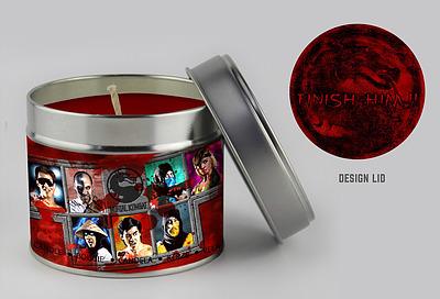 Einfach und sicher online bestellen: Mortal Kombat Character Selection Candle in Österreich kaufen.