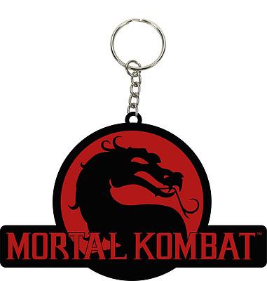 Einfach und sicher online bestellen: Mortal Kombat Logo Keychain in Österreich kaufen.
