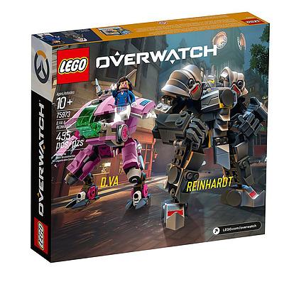 Einfach und sicher online bestellen: Overwatch LEGO D.VA & Reinhardt in Österreich kaufen.