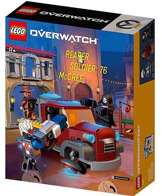 Einfach und sicher online bestellen: Overwatch LEGO Dorado-Showdown in Österreich kaufen.