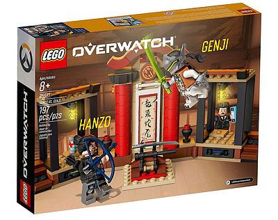 Einfach und sicher online bestellen: Overwatch LEGO Hanzo vs. Genji in Österreich kaufen.