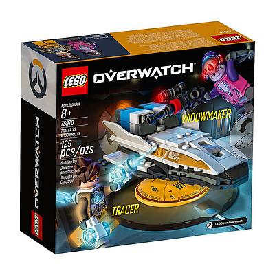 Einfach und sicher online bestellen: Overwatch LEGO Tracer vs. Widowmaker in Österreich kaufen.