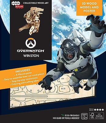 Einfach und sicher online bestellen: Overwatch IncrediBuilds 3D Modellbausatz Winston in Österreich kaufen.