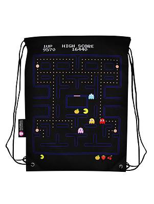 Einfach und sicher online bestellen: Pac-Man Gameplay Cinch Bag in Österreich kaufen.