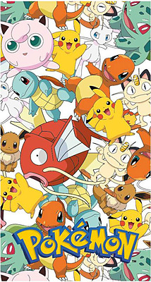 Einfach und sicher online bestellen: Pokemon Handtuch Character in Österreich kaufen.