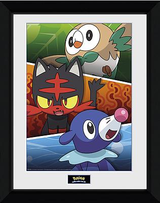 Einfach und sicher online bestellen: Pokemon Sonne und Mond Poster Alola Partners in Österreich kaufen.