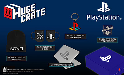 Einfach und sicher online bestellen: Huge Crate Fanbox PlayStation in Österreich kaufen.