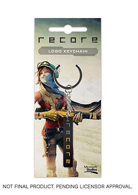 Einfach und sicher online bestellen: Recore Metall Schlüsselanhänger Logo in Österreich kaufen.