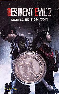 Einfach und sicher online bestellen: Resident Evil 2 Sammelmünze Leon & Claire in Österreich kaufen.