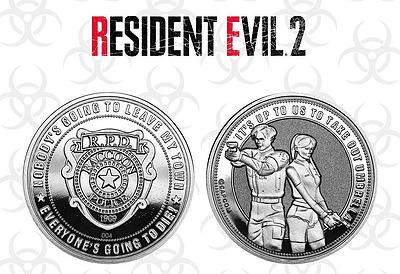 Einfach und sicher online bestellen: Resident Evil 2 Sammelmünze Raccon Police Silver in Österreich kaufen.
