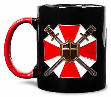 Einfach und sicher online bestellen: Resident Evil Metall Badge Mug in Österreich kaufen.