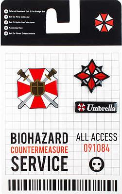 Einfach und sicher online bestellen: Resident Evil 3 Pin Box Set in Österreich kaufen.