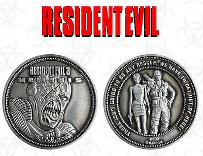 Einfach und sicher online bestellen: Resident Evil 3 Sammelmünze Nemesis Limited Edi. in Österreich kaufen.