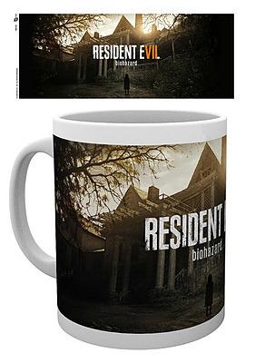 Einfach und sicher online bestellen: Resident Evil 7 Tasse Key Art in Österreich kaufen.