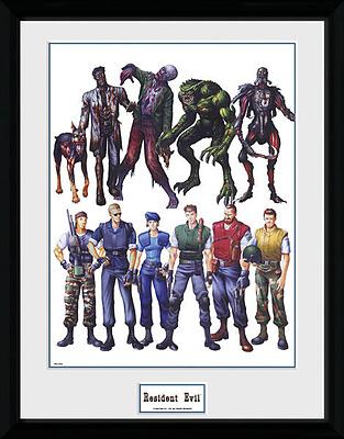 Einfach und sicher online bestellen: Resident Evil Poster im Rahmen Concept Art in Österreich kaufen.