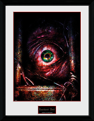 Einfach und sicher online bestellen: Resident Evil Poster im Rahmen Eye in Österreich kaufen.