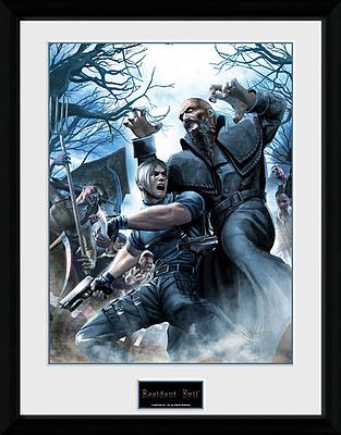 Einfach und sicher online bestellen: Resident Evil Poster im Rahmen Leon in Österreich kaufen.