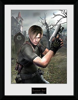 Einfach und sicher online bestellen: Resident Evil Poster im Rahmen Leon Graveyard in Österreich kaufen.