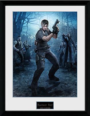 Einfach und sicher online bestellen: Resident Evil Poster im Rahmen Leon Gun in Österreich kaufen.