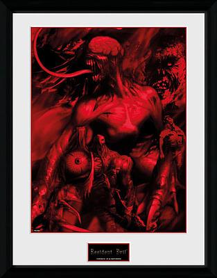 Einfach und sicher online bestellen: Resident Evil Poster im Rahmen Montage in Österreich kaufen.