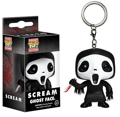 Einfach und sicher online bestellen: Scream Pocket POP! Schlüsselanhänger Ghostface in Österreich kaufen.