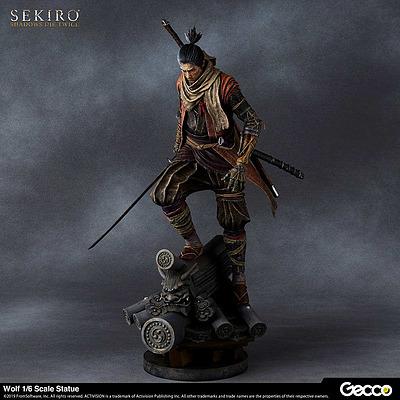 Einfach und sicher online bestellen: Sekiro: Shadows Die Twice 1/6 Statue Wolf in Österreich kaufen.