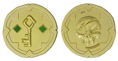 Einfach und sicher online bestellen: Sea of Thieves Replik Gold Hoarder Coin Limited in Österreich kaufen.
