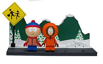 Einfach und sicher online bestellen: South Park Bauset Stan & Kenny Bus Stop in Österreich kaufen.