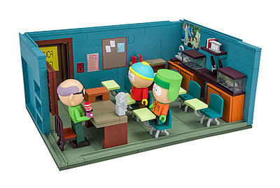 Einfach und sicher online bestellen: South Park Large Bauset Mr. Garrison's Classroom in Österreich kaufen.
