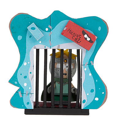 Einfach und sicher online bestellen: South Park Bauset Professor Chaos Holding Cell in Österreich kaufen.