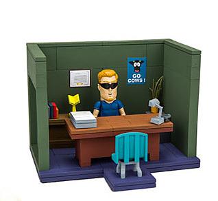Einfach und sicher online bestellen: South Park Bauset Principal's Office in Österreich kaufen.