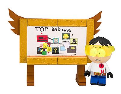 Einfach und sicher online bestellen: South Park Bauset Toolshed Top Bad Guys Board in Österreich kaufen.