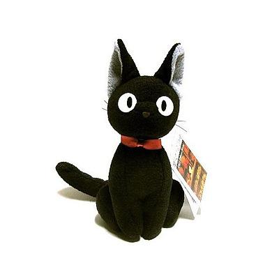 Einfach und sicher online bestellen: Studio Ghibli Plüschfigur Jiji in Österreich kaufen.