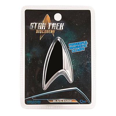 Einfach und sicher online bestellen: Star Trek Discovery Abzeichen Black Badge in Österreich kaufen.