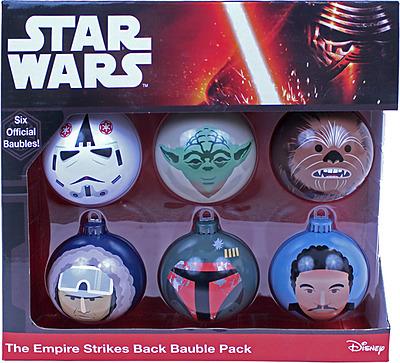 Einfach und sicher online bestellen: Star Wars Christbaumkugeln The Empire Strikes Back in Österreich kaufen.