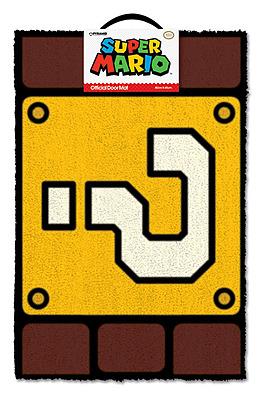 Einfach und sicher online bestellen: Super Mario Fußmatte Fragezeichenblock in Österreich kaufen.