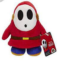 Einfach und sicher online bestellen: Super Mario World Plüschfigur Shy Guy in Österreich kaufen.