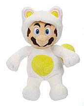 Einfach und sicher online bestellen: Super Mario World Plüschfigur White Tanooki in Österreich kaufen.