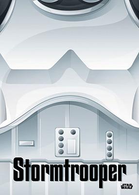 Einfach und sicher online bestellen: Star Wars Metall-Poster Minimalist Stormtrooper in Österreich kaufen.