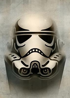 Einfach und sicher online bestellen: Star Wars Metall-Poster Masked Trooper Animated in Österreich kaufen.