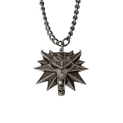 Einfach und sicher online bestellen: The Witcher 3 Wild Hunt Medaillon mit Kette Wolf in Österreich kaufen.