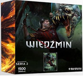 Einfach und sicher online bestellen: The Witcher Puzzle Eskel in Österreich kaufen.